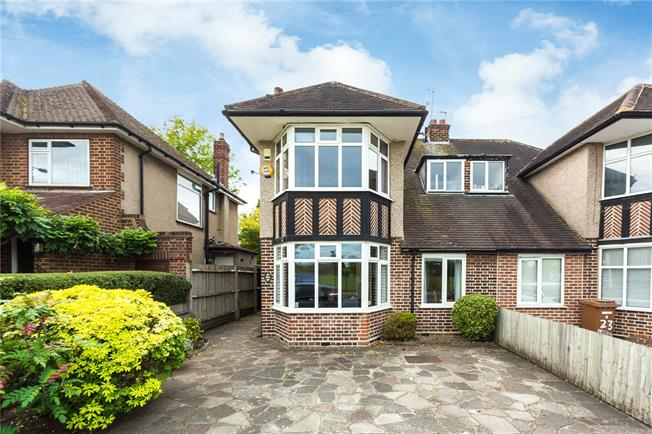 Offers in excess of £600,000, 3 Bedroom Semi Detached House For Sale in Stanmore, HA7