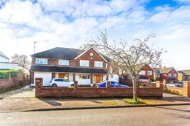 Asking Price £1,795,000, 8 Bedroom Detached House For Sale in Hertfordshire, WD23