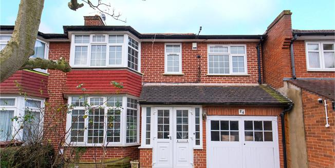 Guide Price £575,000, 3 Bedroom Semi Detached House For Sale in Stanmore, HA7