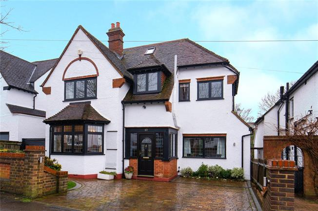 Offers in excess of £945,000, 5 Bedroom Detached House For Sale in Bushey, WD23