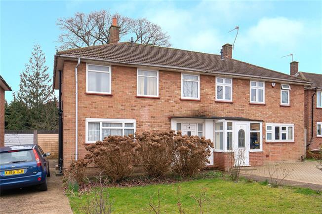 Asking Price £515,000, 3 Bedroom Semi Detached House For Sale in Edgware, HA8