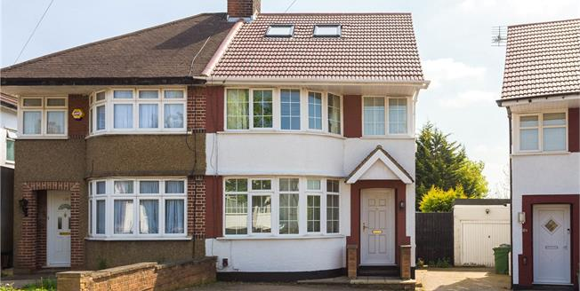 Offers in excess of £600,000, 4 Bedroom Semi Detached House For Sale in Stanmore, HA7