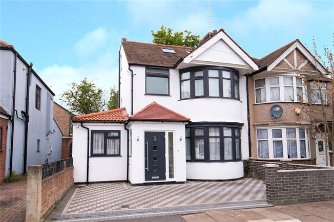 Asking Price £740,000, 4 Bedroom Semi Detached House For Sale in Harrow, HA1