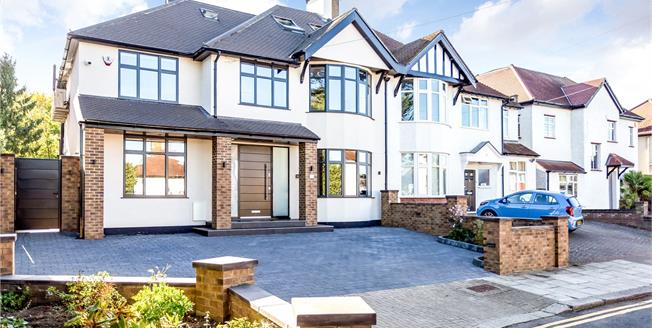 Asking Price £1,425,000, 5 Bedroom Semi Detached House For Sale in Edgware, HA8