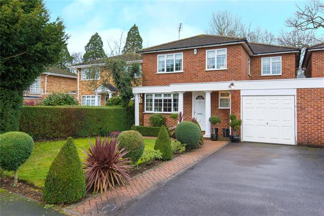 Asking Price £985,000, 4 Bedroom Detached House For Sale in Stanmore, HA7