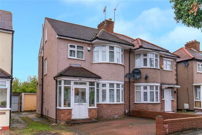 Offers in excess of £575,000, 4 Bedroom Semi Detached House For Sale in Harrow, HA3
