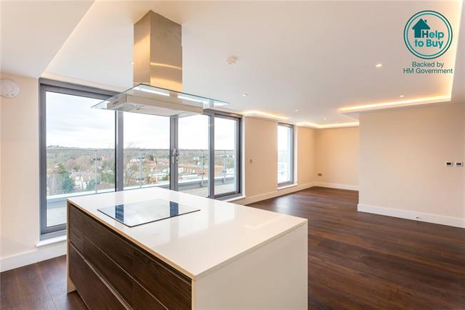 Asking Price £515,000, 2 Bedroom Flat For Sale in New Barnet, EN5