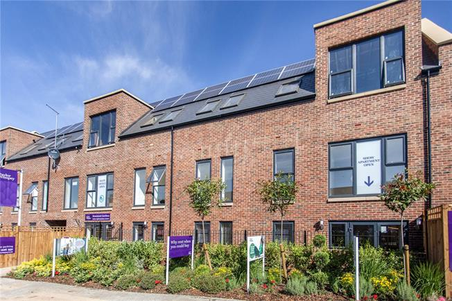 Asking Price £415,000, 2 Bedroom Flat For Sale in St Albans, Hertfordshire, AL1