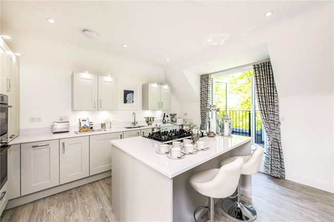Asking Price £875,000, 2 Bedroom Flat For Sale in St Albans, Hertfordshire, AL3