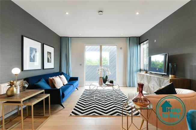 Asking Price £360,000, 2 Bedroom Flat For Sale in Watford, Hertfordshire, WD18