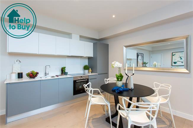 Asking Price £420,000, 2 Bedroom Flat For Sale in Eastcote, Middlesex, HA4