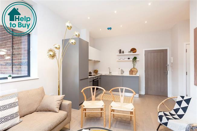 Asking Price £310,000, 1 Bedroom Flat For Sale in Eastcote, Middlesesx, HA4