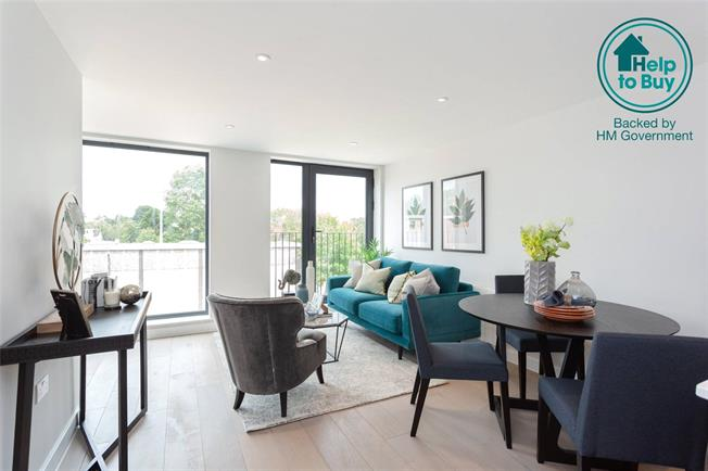 Asking Price £485,000, 3 Bedroom Flat For Sale in Eastcote, Middlesex, HA4