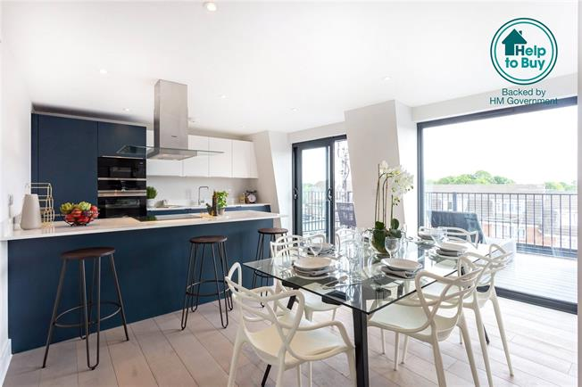 Asking Price £600,000, 3 Bedroom Flat For Sale in Eastcote, Middlesex, HA4