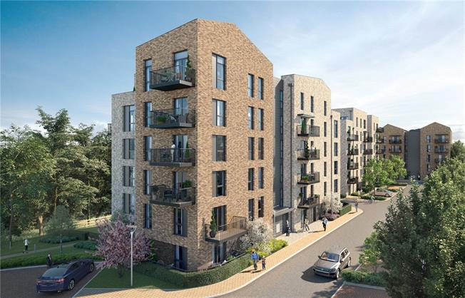 Asking Price £365,000, 2 Bedroom Flat For Sale in Watford, Hertfordshire, WD18