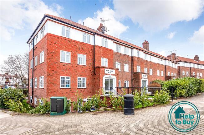 Asking Price £410,000, 2 Bedroom Flat For Sale in Edgware, HA8