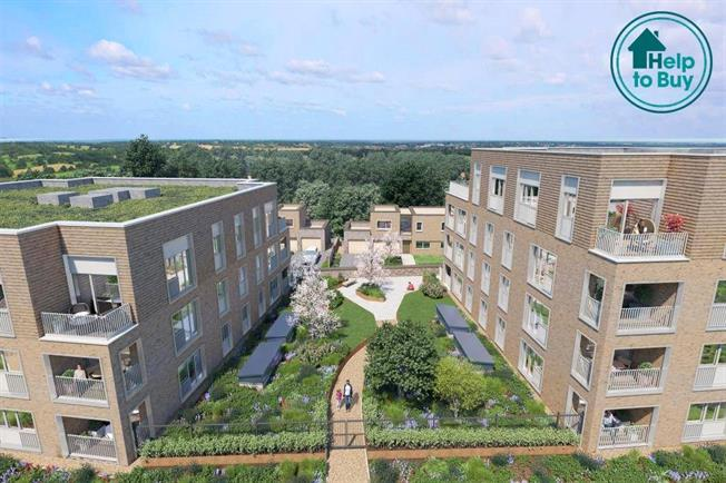 Asking Price £609,995, 3 Bedroom Flat For Sale in London, NW7