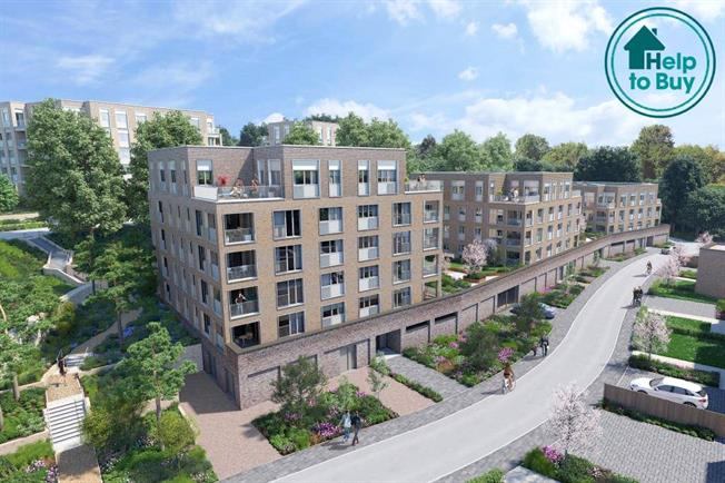 Asking Price £569,995, 2 Bedroom Flat For Sale in London, NW7