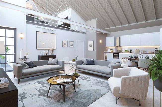 Asking Price £585,000, 2 Bedroom Flat For Sale in St. Albans, Hertfordshire, AL1