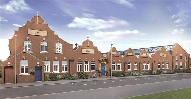 Asking Price £305,000, 1 Bedroom Flat For Sale in St Albans, Hertfordshire, AL1