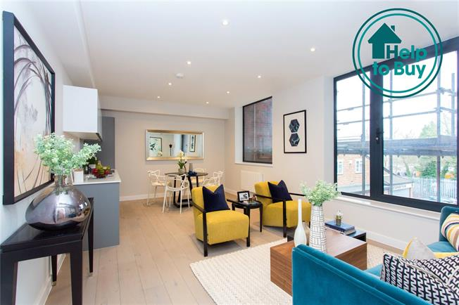 Asking Price £450,000, 2 Bedroom Flat For Sale in Eastcote, Middlesex, HA4