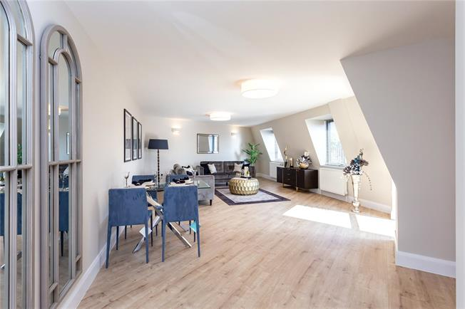 Asking Price £544,950, 2 Bedroom Flat For Sale in The Broadway, Stanmore, HA7