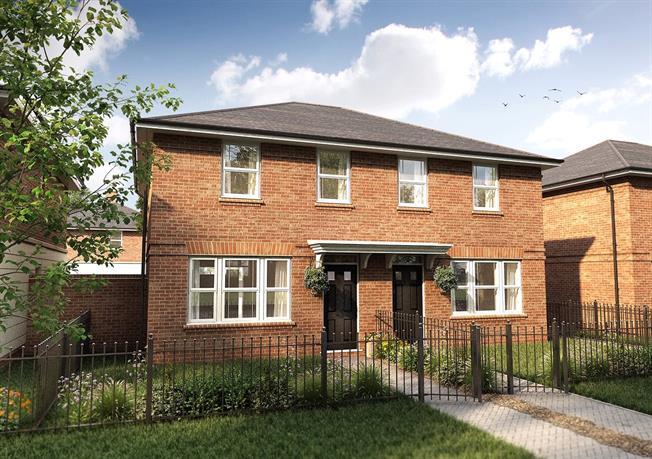 Asking Price £525,000, 3 Bedroom Semi Detached House For Sale in Radlett, Hertfordshire, WD7