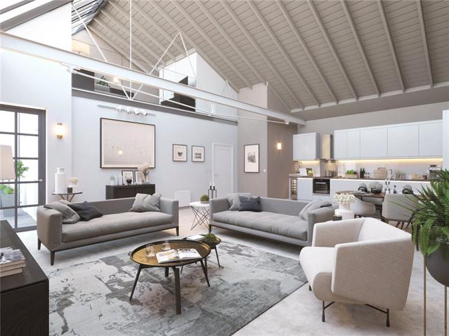 Asking Price £575,000, 2 Bedroom Flat For Sale in St Albans, Hertfordshire, AL1