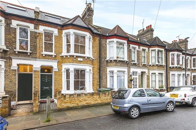 Asking Price £875,000, 5 Bedroom Terraced House For Sale in London, SE8