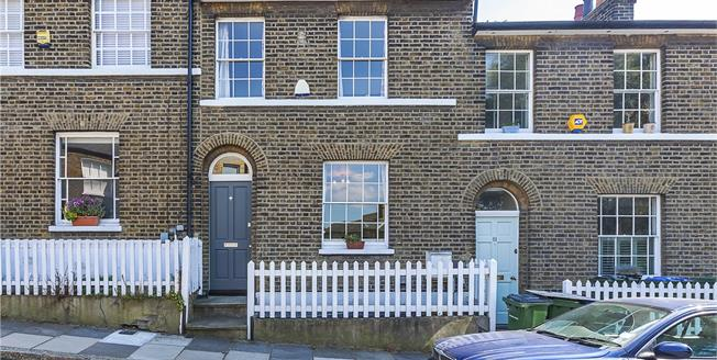 Asking Price £825,000, 2 Bedroom Terraced House For Sale in London, SE10