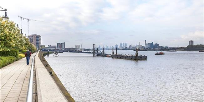 Asking Price £445,000, 1 Bedroom Flat For Sale in Kinetic Tower, SE18