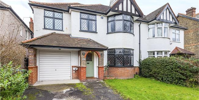 Asking Price £1,350,000, 5 Bedroom Semi Detached House For Sale in London, SE3