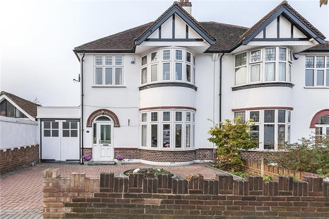 Offers in excess of £650,000, 3 Bedroom Semi Detached House For Sale in London, SE9