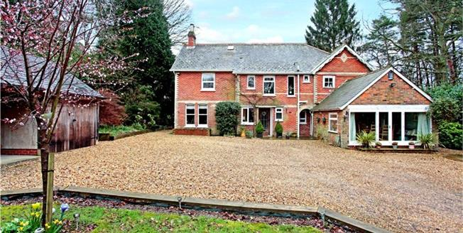 Guide Price £749,995, 5 Bedroom Detached House For Sale in Alderholt, SP6