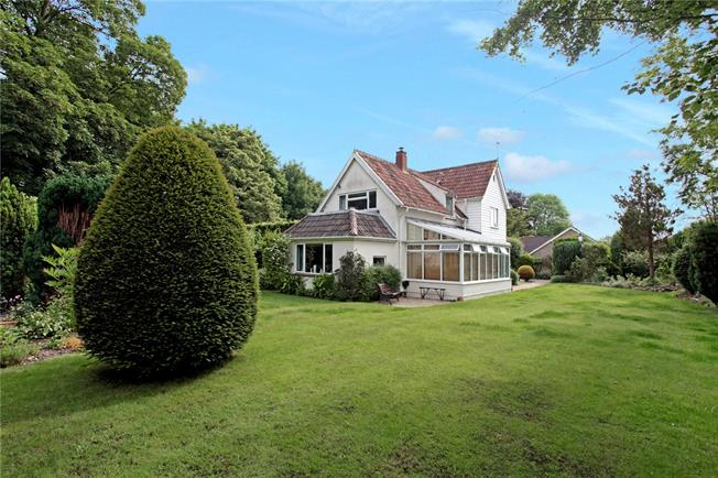 Guide Price £480,000, 4 Bedroom Detached House For Sale in Wylye, BA12