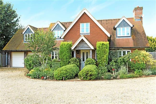 Guide Price £675,000, 5 Bedroom Detached House For Sale in Gomeldon, Salisbury, SP4