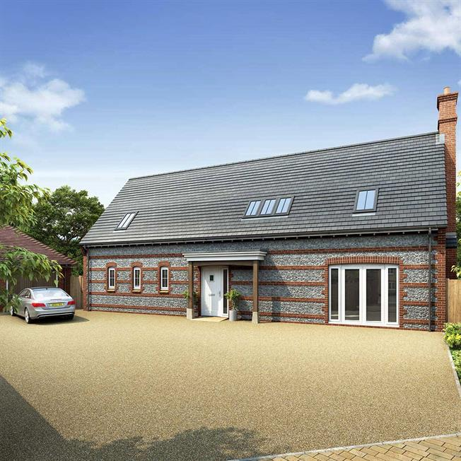 Guide Price £695,000, 4 Bedroom Detached House For Sale in Blandford Forum, DT11