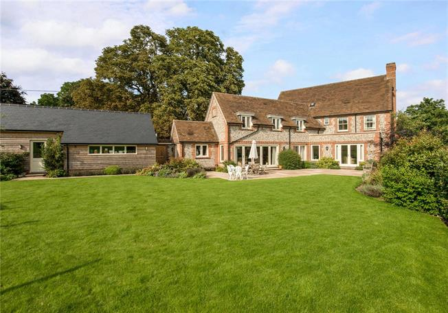 Guide Price £1,300,000, 5 Bedroom Detached House For Sale in Middle Woodford, SP4