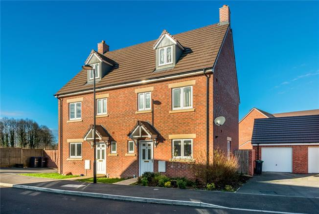Guide Price £285,000, 4 Bedroom Semi Detached House For Sale in Old Sarum, SP4