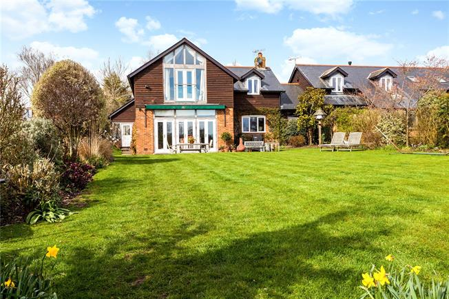 Guide Price £875,000, 4 Bedroom House For Sale in Quidhampton, SP2