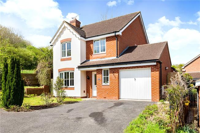 Guide Price £415,000, 4 Bedroom Detached House For Sale in Salisbury, Wiltshire, SP1