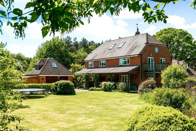 Guide Price £950,000, 4 Bedroom Detached House For Sale in Salisbury, Wiltshire, SP5