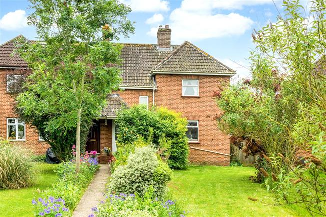 Guide Price £290,000, 3 Bedroom Semi Detached House For Sale in Winterbourne Gunner, SP4