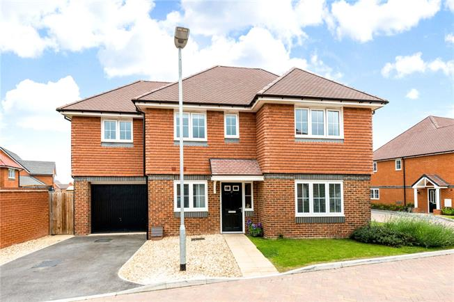 Guide Price £489,950, 4 Bedroom Detached House For Sale in Bishopdown, SP1