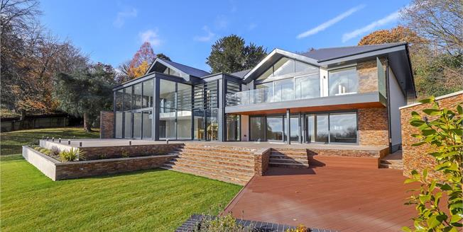 Guide Price £2,895,000, 5 Bedroom Detached House For Sale in Ringwood, BH24