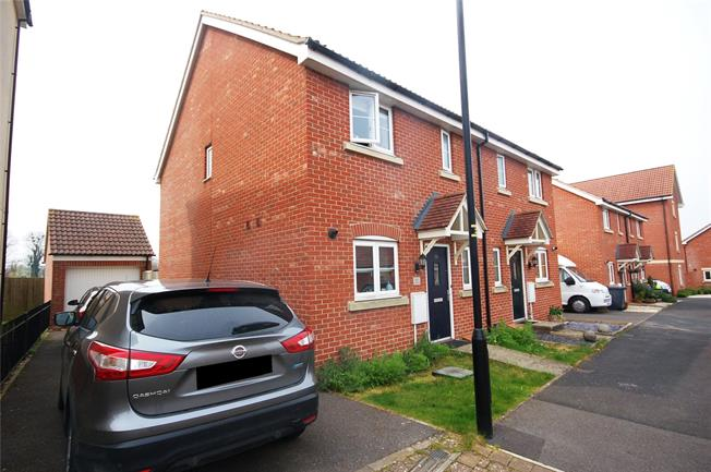 Asking Price £234,995, 3 Bedroom Semi Detached House For Sale in Old Sarum, SP4