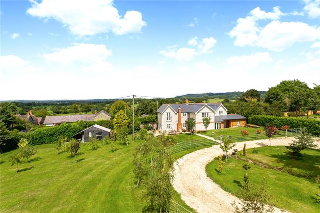 Guide Price £795,000, 4 Bedroom Detached House For Sale in Shaftesbury, SP7