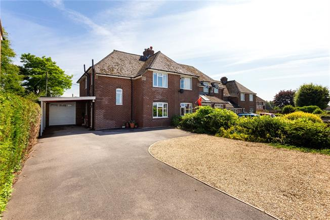 Guide Price £430,000, 4 Bedroom Semi Detached House For Sale in Middle Wallop, SO20