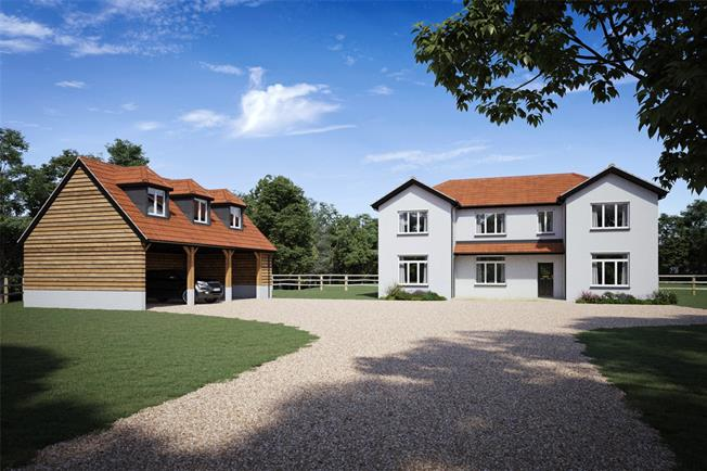 Guide Price £779,950, 4 Bedroom Detached House For Sale in Figheldean, SP4
