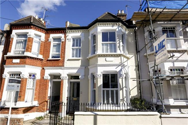 Asking Price £950,000, 3 Bedroom Terraced House For Sale in London, SW18
